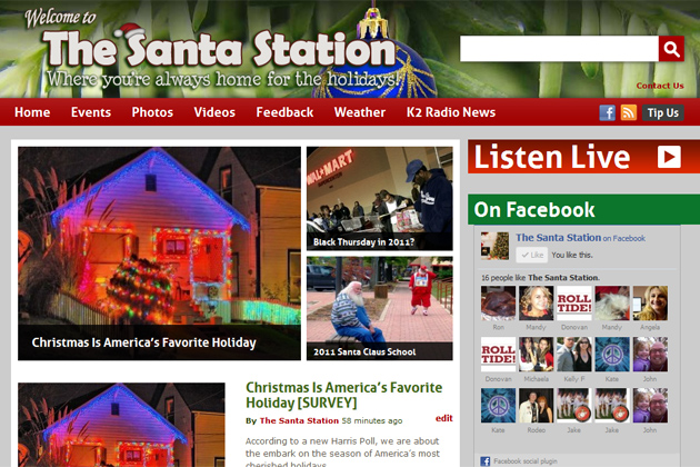 The Santa Station