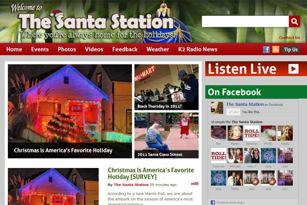 The Santa Station