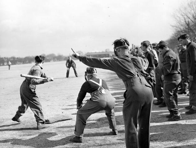 Softball Game - Arthur Tanner/Fox Photos/Getty Images