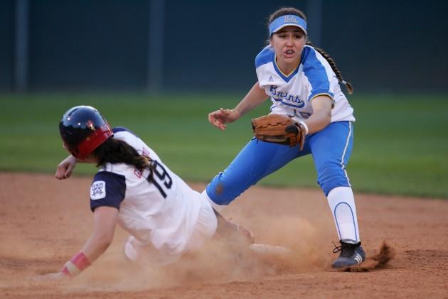 UCLA Softball vs. USA Softball - Robert Laberge/Getty Images