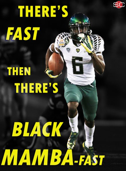 There's Fast, Then There's Black Mamba-Fast...