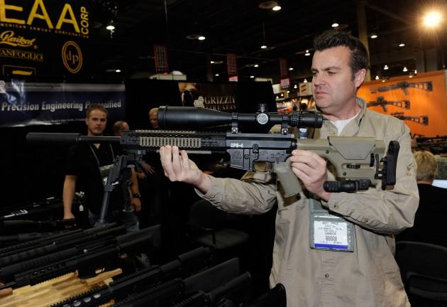 Gun Silencer - Getty Images