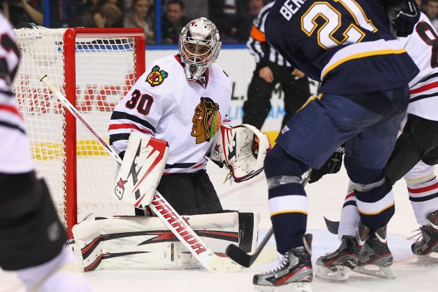 Chicago Blackhawks v St. Louis Blues - Dilip Vishwanat/Getty Images