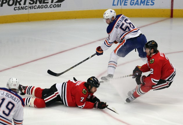 Edmonton Oilers v Chicago Blackhawks - Jonathan Daniel/Getty Images