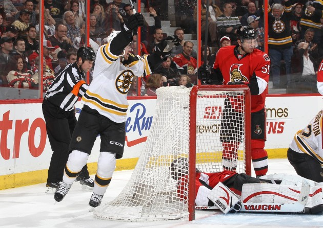 Boston Bruins v Ottawa Senators - Jana Chytilova/Freestyle Photography/Getty Images