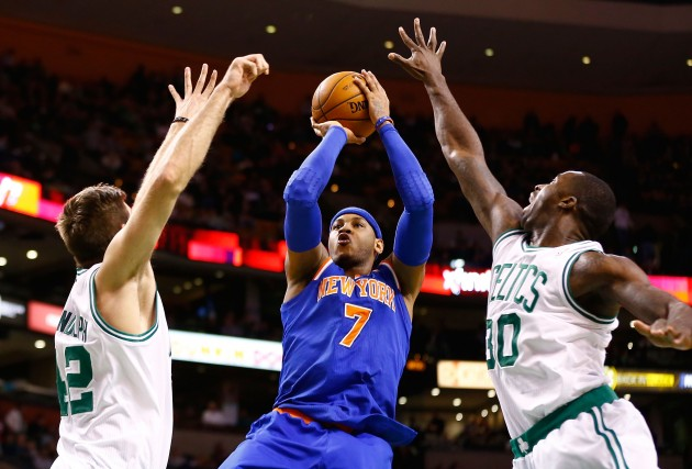 New York Knicks v Boston Celtics - Jared Wickerham/Getty Images
