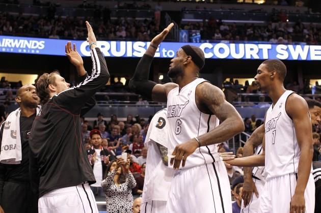 Miami Heat - Gary Bogdon/Getty Images