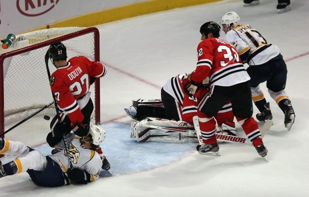 Nashville Predators v Chicago Blackhawks - Jonathan Daniel/Getty Images