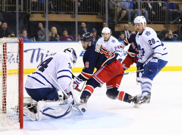 Toronto Maple Leafs v New York Rangers - Getty Images