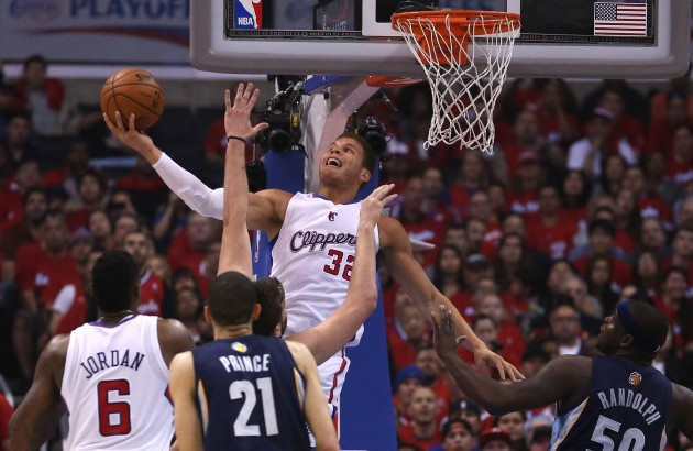 Memphis Grizzlies v Los Angeles Clippers - Game Two - Stephen Dunn/Getty Images