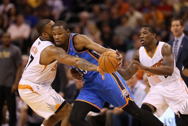 Oklahoma City Thunder v Phoenix Suns - Getty Images