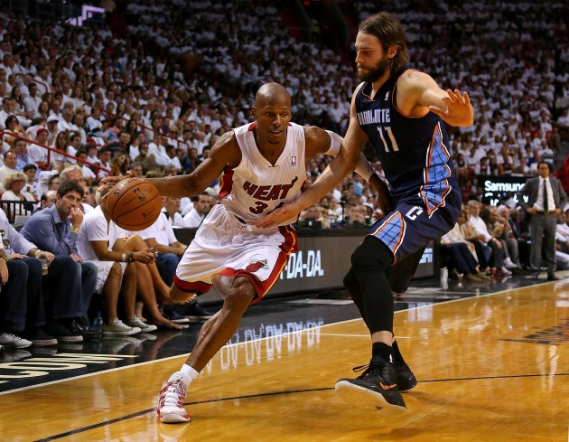 Charlotte Bobcats v Miami Heat - Game One - Getty Images