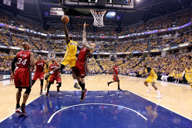 Miami Heat v Indiana Pacers - Game 1 - Getty Images
